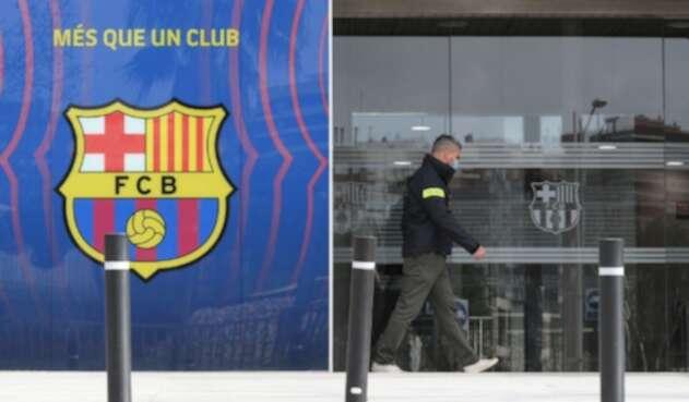 Oficinas de Barcelona FC registradas por caso BarcaGate