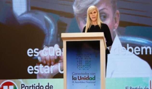 Dilian Francisca Toro, presidenta del Partido de La U