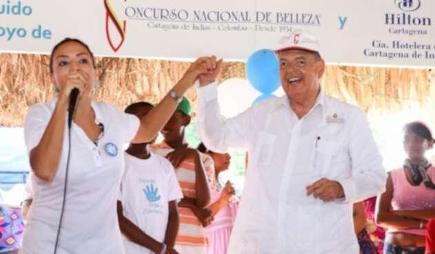 Raimundo Angulo, presidente del Concurso Nacional de Belleza