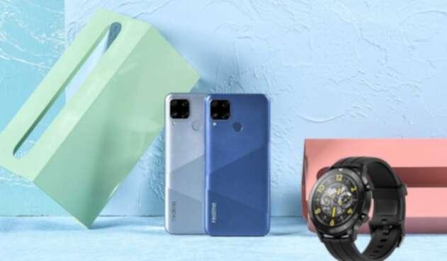 Realme C15 y Watch S Pro