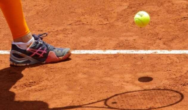 Tenista en la Copa Colsanitas