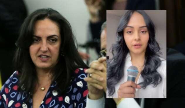 TikToker imita a María Fernanda Cabal