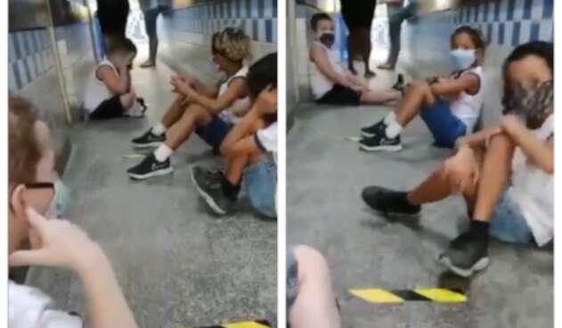 Tiroteo y distanciamiento social en Brasil