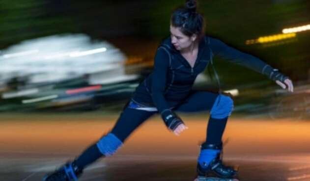 Acosan a patinadora en Bogotá