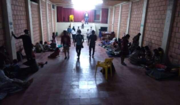 Indígenas desplazados en Pueblo Rico, Risaralda