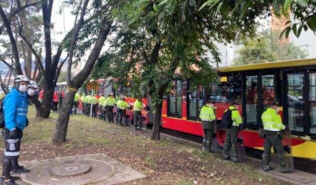 Tala de árboles en Suba genera protestas de ambientalistas