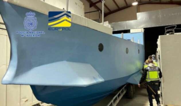Narcosubmarino interceptado en España