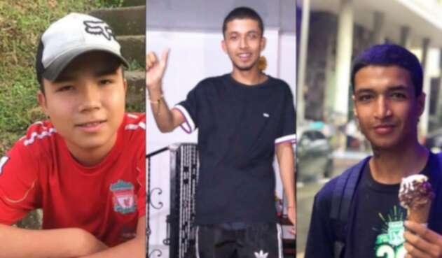 Continúan desaparecidos tres de los ocho jóvenes de Caldas y Risaralda