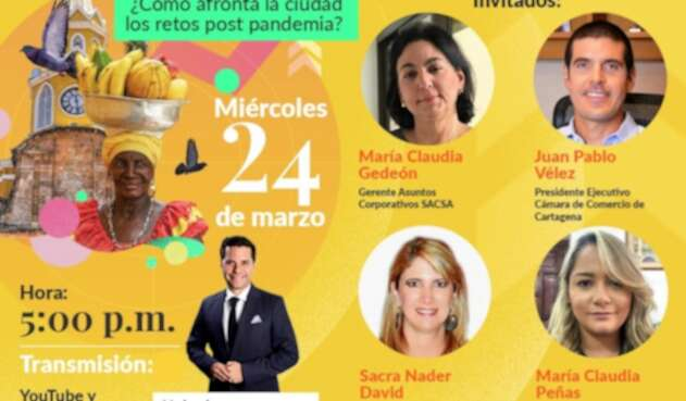 Foro La FM: Pa´ lante Cartagena, ¿cómo afronta la ciudad los retos post pandemia?
