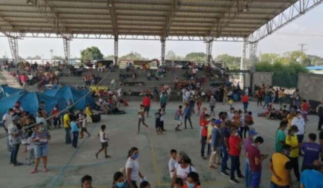 Gobierno hace presencia en el municipio de Arauquita para atender a venezolanos desplazados