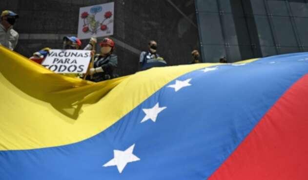 Protestas en Venezuela por vacunas