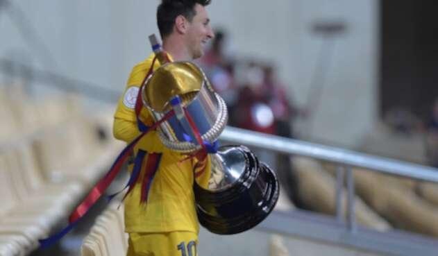Lionel Messi, goleador estrella del Barcelona
