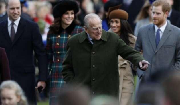 Príncipes Felipe, Harry, William