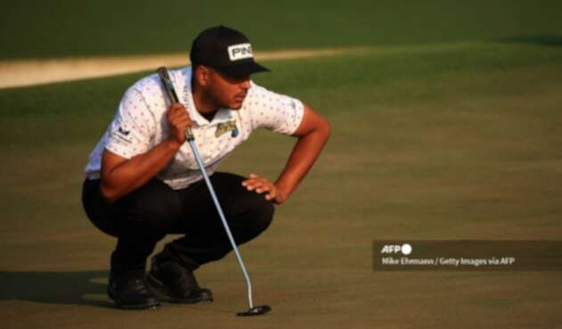 Sebastián Muñoz, golfista bogotano