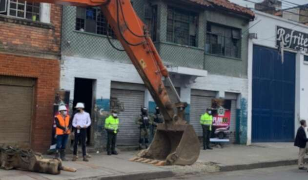Ollas microtráfico Bogotá