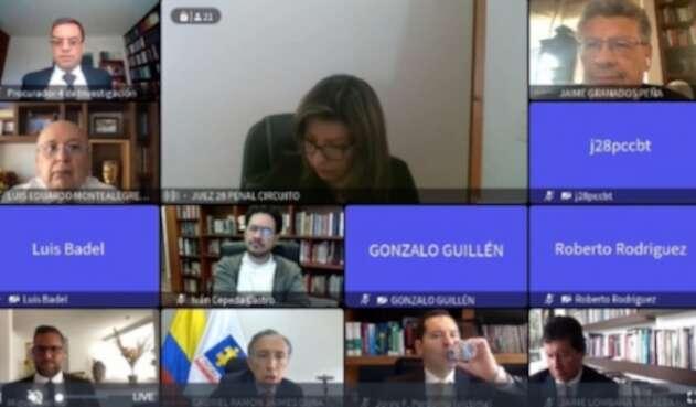 El 9 de abril se definirá si se reconocen más víctima dentro del proceso contra Uribe