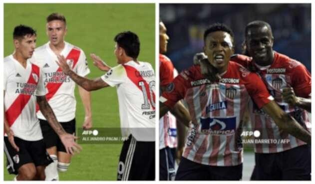 River Plate y Junior 2021