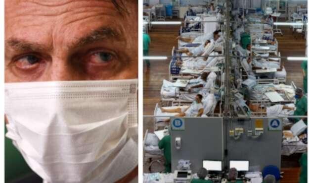 Brasil es el segundo país con más muertos por covid-19