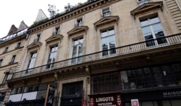 Apartamento de Pierre-Jean Chalençon, donde se habrían organizado las fiestas