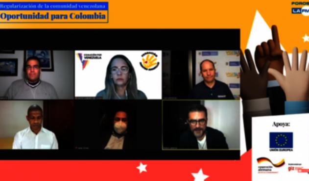 Regularización de la comunidad venezolana