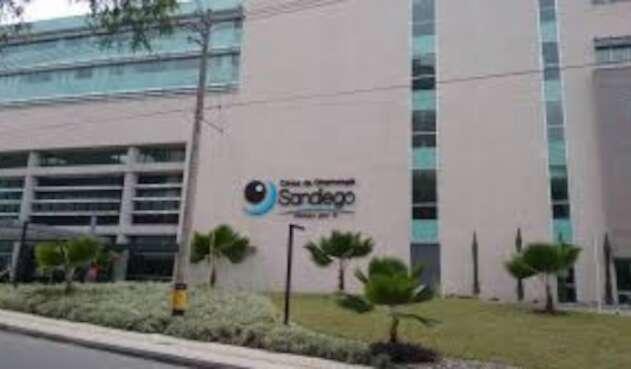 Clínica de Oftalmología San Diego en Medellín.