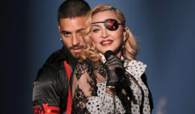 Madonna y Maluma interpretan juntos Medellín