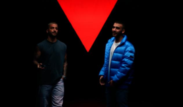 Maluma junto a Manuel Turizo en 'Amor en Coma'