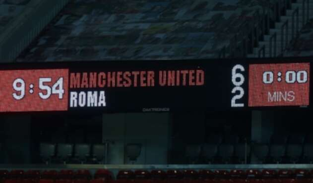 Manchester United Vs. Roma - Europa League