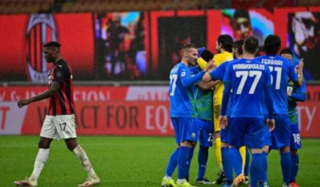 AC Milan Vs. Sassuolo - Serie A