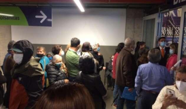 Vacunación en Movistar Arena