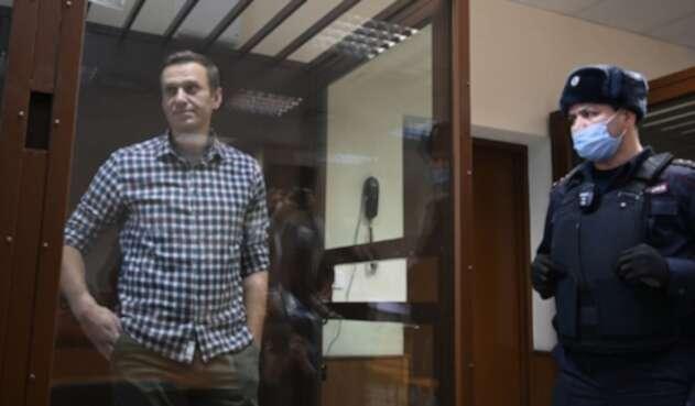 Alexei Navalni, opositor ruso en audiencia