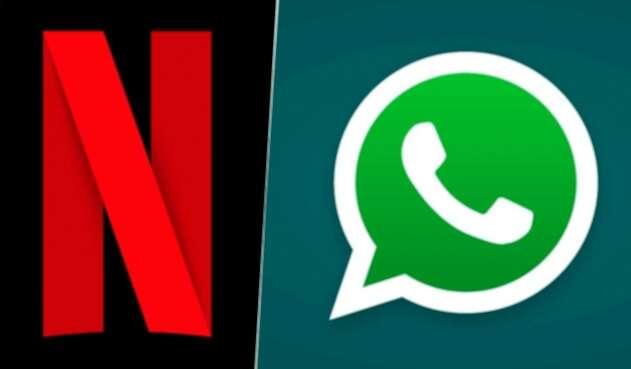 WhatsApp y Netflix