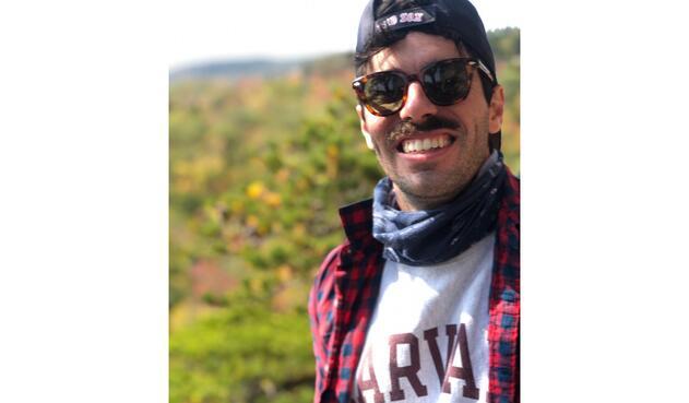 Nick Crimaldi, un obrero de construcción en Estados Unidos