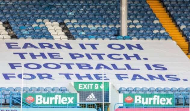 Pancarta Leeds United