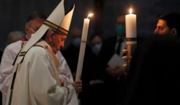 Papa Francisco celebra la Vigilia Pascual este 3 de abril de 2021