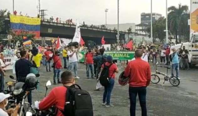 Paro nacional: protestas en Cali
