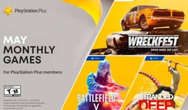 Juegos gratis en PlayStation+ para mayo 2021