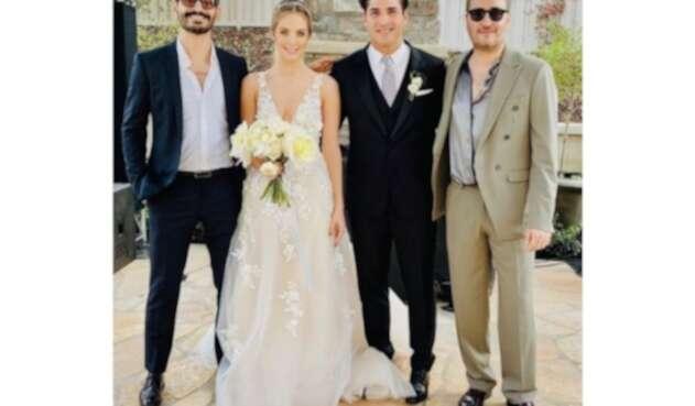 Matrimonio de Julio Ramírez, integrante de Reik, con Erika Batiz
