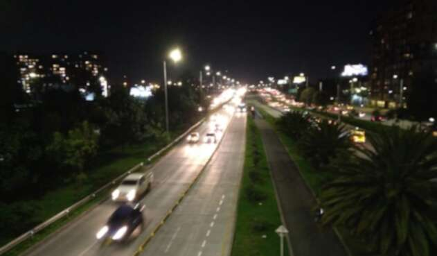 Hubo congestión en la avenida Boyacá con la 26