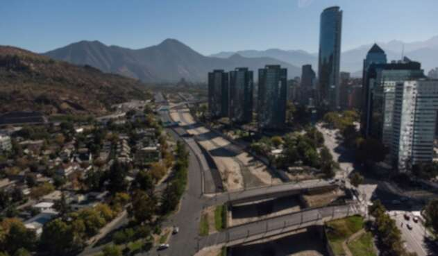 Confinamiento en Santiago de Chile
