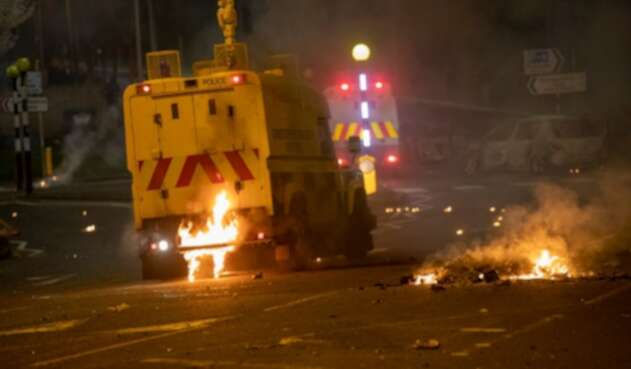 Violencia en Irlanda del Norte