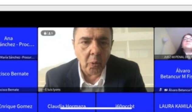 No se realizó la audiencia de acusación contra el abogado Luis Ignacio Lyons España