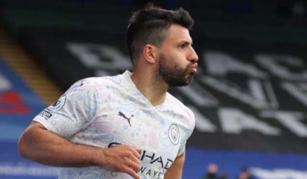 Sergio el 'Kun' Agüero en la liga inglesa