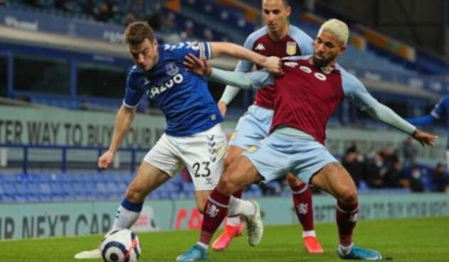 Everton vs Aston Villa, Premier League 2021