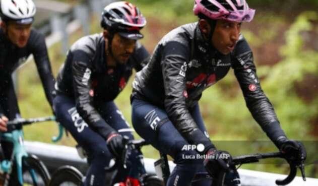 Daniel Felipe Martínez y Egan Bernal, Giro de Italia
