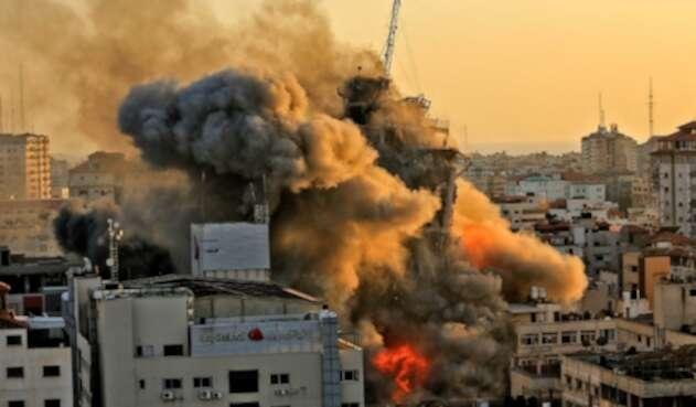 Ataque en la Franja de Gaza desde Israel