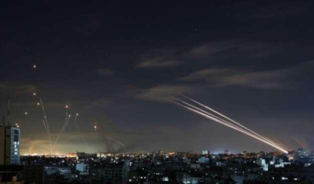 Domo de defensa israelí