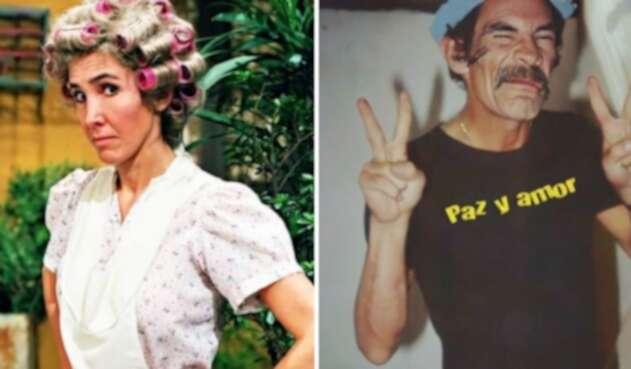Doña Florinda y Don Ramón