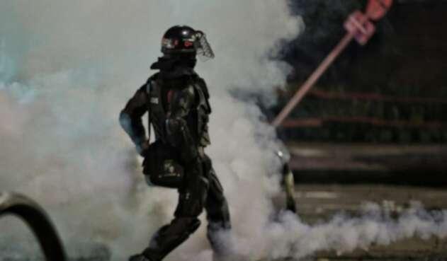 Van más de 450 policías heridos durante las protestas que iniciaron el 28 de abril 2021.