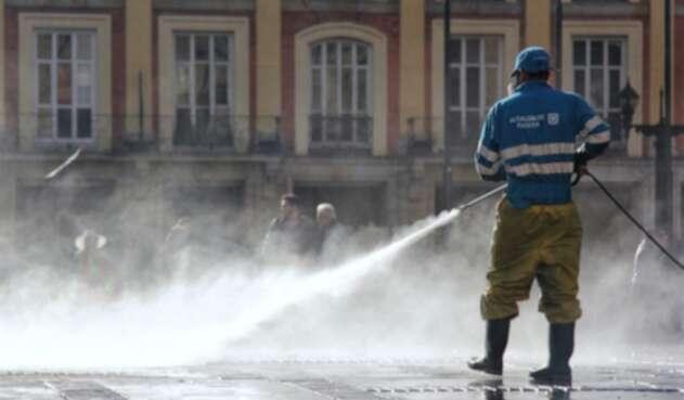 Limpieza y aseo en Bogotá